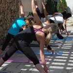 Open Air Morning Yoga at Kalola Spa