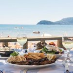 Greek meal and sea view!!!