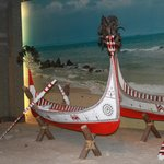 Taiwanese boats in costume section