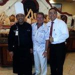 El Chavo, my husband, and Juan Diaz