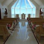 Stunning chapel at shangri-la