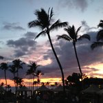 Gorgeous sunset, beach and grounds.