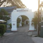 View on Entering the Normandie Hotel