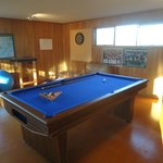 Upstairs Games Room: Cards, Darts, Pool/Snooker.