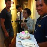 Birthday celebrations! Thank you Art Boutique Hotel!!