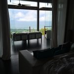View from Sleeping Area