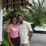 wonderful staff members Teka and Rondino