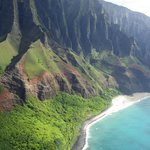 Na'Pali Coast from Helicopter