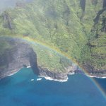 Rainbow from Helicopter