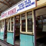Shows old Australian trolley