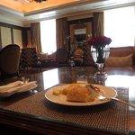 the Royal Club breakfast