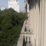 Vista a edificio MOP