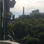 Vista a Obelisco desde balcón