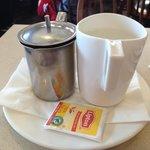 Hot Tea @ Chip's Family Restaurant, Trumbull, CT
