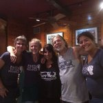 July 8, 2014.......Robbie & Wendy Greene with our fantastic servers Heather & Sonia....can't wai