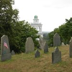 Burial Hill over Plymouth