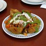 Samosa Chaat - The best you will ever have.  Don't skip it!