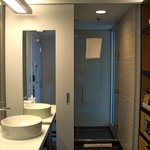 Room 1803 / Vanity, Shower, and Storage Area