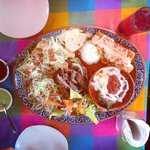 What a great feed at Cuervo's House, San Jose del Cabo. This is the Mexican tapas for 2. So deli