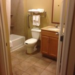 Loved the spacious bathroom!