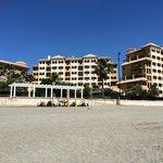 Hotel from Fuengirola beach