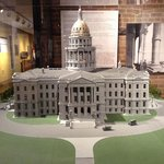 Model of the Capitol found in the museum