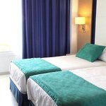 Double room with the seaview from the door
