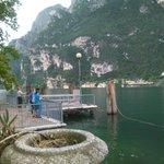 Udsigt i byen Riva del Garda.