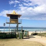 Beach entrance from hostel - 2 mins walk!