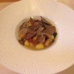 Gnocchi with summer truffle