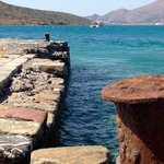 Spinalonga jetty