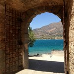 view to Crete from Spinalonga