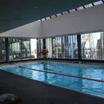 piscine au dernier étage