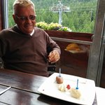 Dad's 70th Birthday dessert ;-)