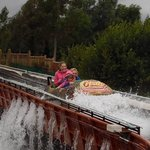 The little ones loved the logflume!