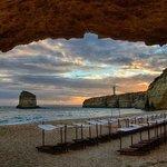 VIEW OF CANEIROS BEACH TAKEN ON THE NIGHT OF THE WEDDING