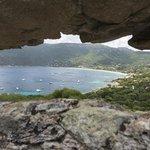Vue sur la baie de Campomoro depuis la tour Gênoise