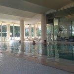 Spa swimming pool view