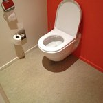 Gulvtæppe ved toilettet