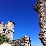 Ruine du château de grimaud