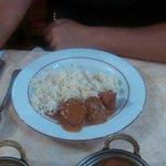 poulet tikka riz safran
