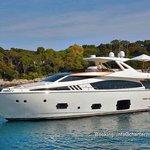 Brand new Ferretti 800 4 cabins