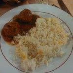 boeuf kofta massala riz safran