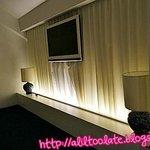 walls behind the curtain