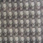 50,000 iny photos of JFK make up Jackie's portrait