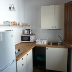 Well equipped functional kitchen