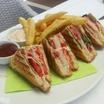Club sandwich. We love it.