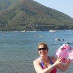icmeler beach stones , no sand