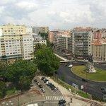 Vistas habitación 1003 NH Campo grande Lisboa