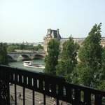 View from the room - The Seine and Louve